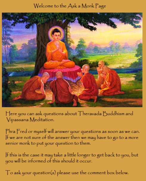 Ask a Monk